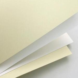 Karton ozdobny A4 200g Gładki biały x50 - 2847289340