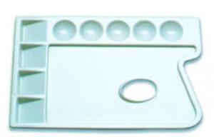 Paletka plastikowa prostokątna 23,5x16,5cm x1 - 2847517747
