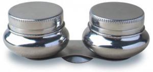 Miseczka stalowa szeroka, podwójna x1 - 2847517759