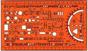 Szablon elektryczny - kombi x1 - 2847518062