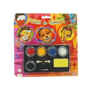Farby do malowania twarzy Aliga 5kol x1