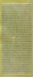 Sticker złoty 03950 - szlaczek x1 - 2824959952