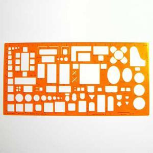 Szablon architektoniczny meble 1:50 x1 - 2847518075