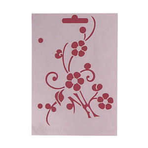 Szablon wielokrotnego użytku A6 - kwiatki x1 - 2824959953