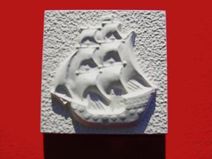 Forma do odlewów gipsowych M-G1-8 statek x1 - 2847793230