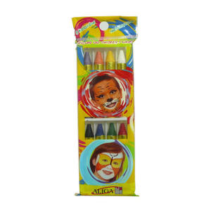 Kredki do malowania twarzy Aliga 8kol x1