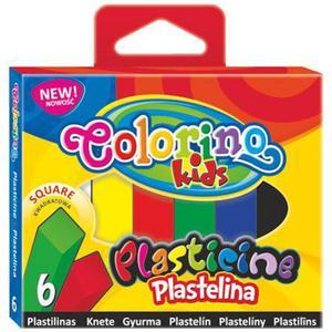 Plastelina Patio Colorino - 6 kol. kwadratowa x1 - 2855813488