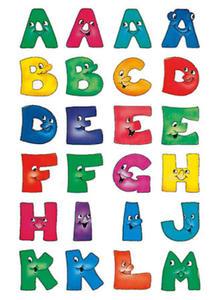 Naklejki HERMA Vario 4194 alfabet x1 - 2856423435