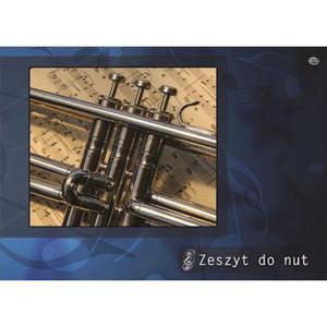 Zeszyt do nut A4 Interdruk x1 - 2856423437
