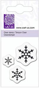 Stemple silikonowe Knorr 5x6cm - Śnieżynki 2 x1 - 2857879382