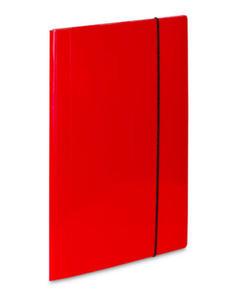 Teczka A4 z gumką VauPe Soft (1) czerwona x1