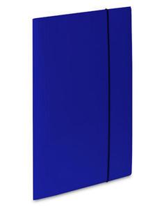 Teczka A4 z gumką VauPe Soft (1) niebieska x1 - 2824960001