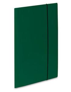 Teczka A4 z gumką VauPe Soft (1) zielona x1