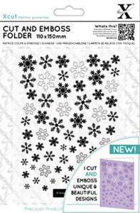 Wykrojnik+folder do embossingu XCU Let it Snow - 2858767906