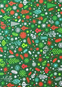 Karton A4 300g Heyda Christmas zielony x1 - 2860488865