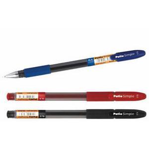 Długopis żelowy Patio Simple 0,7 - czarny x1 - 2861942361