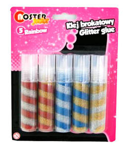 Klej brokatowy Noster Rainbow 20ml x5 - 2862567328