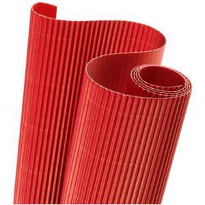 Tektura falista Heyda 50x70 rolka 24 czerwona x1 - 2862840230