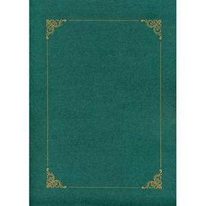 Teczka zielona A4 z ramk - 2860489291
