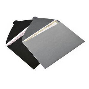 Teczka kopertowa A4 czarna x5 - 2860489293