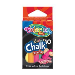 Kreda Patio Colorino Kids bezpyłowa kolorowa x10 - 2868114399