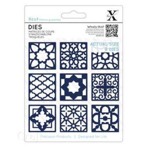 Wykrojnik X-CUT Maroccan Tiles 9e x1 - 2882916130