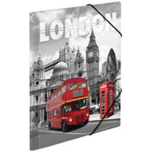 Teczka A3 z gumkami Herma - Londyn x1 - 2860489728