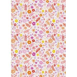 Karton B2 300g Heyda Natural Cards Flowers pink x1 - 2860489753