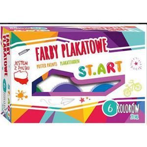 Farby plakatowe Start 20ml 6 kolor - 2860489886