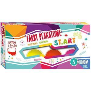 Farby plakatowe Start 20ml 8 kolor - 2860489887