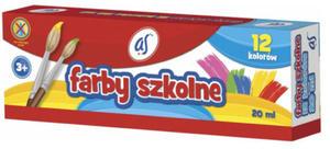 Farby plakatowe As - 12 kolorów x1