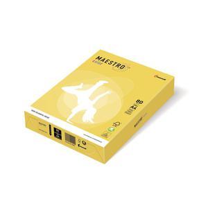 Papier ksero A4 80g MAESTRO kanarkowy x500 - 2860490155