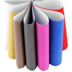 Zeszyt papierów brokatowych A4 samoprz. 10ark. - 2875599918