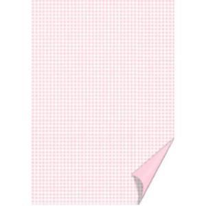 Karton A4 200g Heyda w kratkę 22 różowy x20 - 2875804470