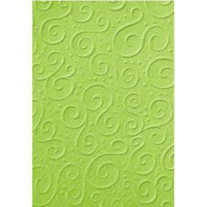 Karton A4 220g Heyda tłoczony Milano zielony x20 - 2876248173