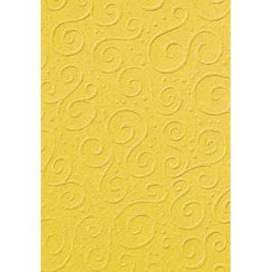 Karton A4 220g Heyda tłoczony Milano żółty x20 - 2876710945