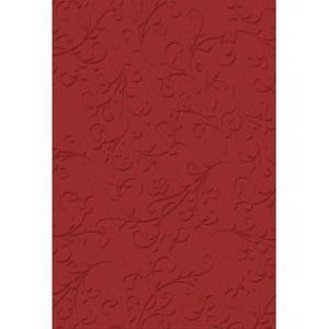 Karton A4 220g Heyda tłoczony Ornament czerwon x20 - 2876248177