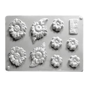 Forma do odlewów cukierniczych H- 3 (C) kwiatki x1 - 2877192067