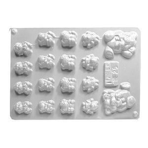 Forma do odlewów cukierniczych H-25 (C) misie x1 - 2877192110