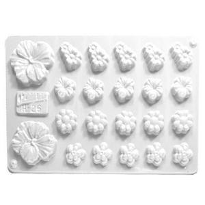 Forma do odlewów cukierniczych H-26 (C) kwiatki x1 - 2877192111