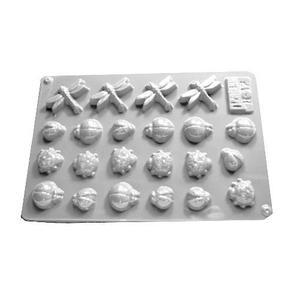 Forma do odlewów cukierniczych H-17 (C) owady x1 - 2877658046