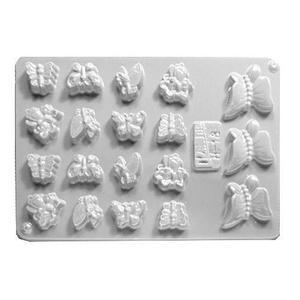 Forma do odlewów cukierniczych H-18 (C) motyle x1 - 2877658047