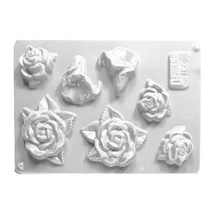 Forma do odlewów cukierniczych H- 6 (C) róże x1 - 2877916527