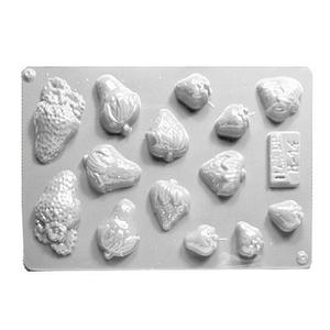 Forma do odlewów cukierniczych H-14 (C) truskaw x1 - 2877916534