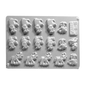 Forma do odlewów cukierniczych H-15 (C) słonie x1 - 2877916535