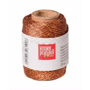 Sznurek metaliczny Knorr Prandell 20mb miedź x1 - 2881103756