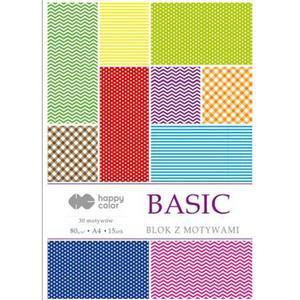 Blok z motywami A4 Happy Color 15ark Basic x1 - 2881367430