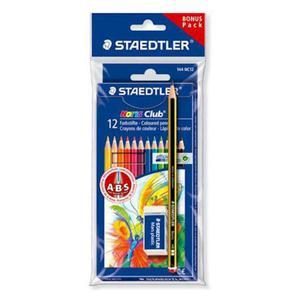 Kredki Staedtler Noris Club 12 kol gumka,ołówek x1 - 2881600544