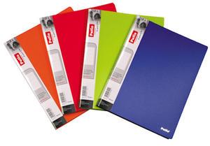 Teczka 20 A4 Patio Clear Book czerwona x1