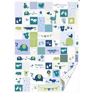 Karton B2 300g Heyda Baby niebieski x1 - 2860491695